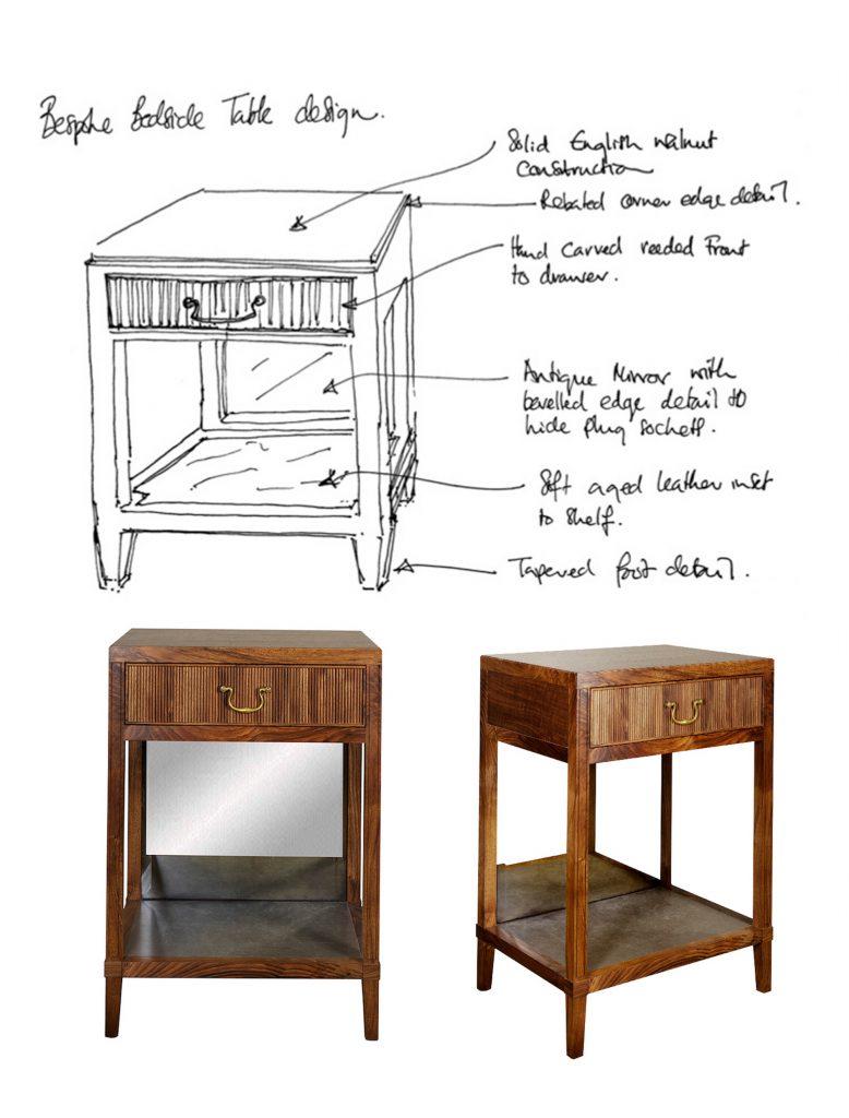 Wondrous Designing Bespoke Furniture Commissions Kh Design Download Free Architecture Designs Grimeyleaguecom