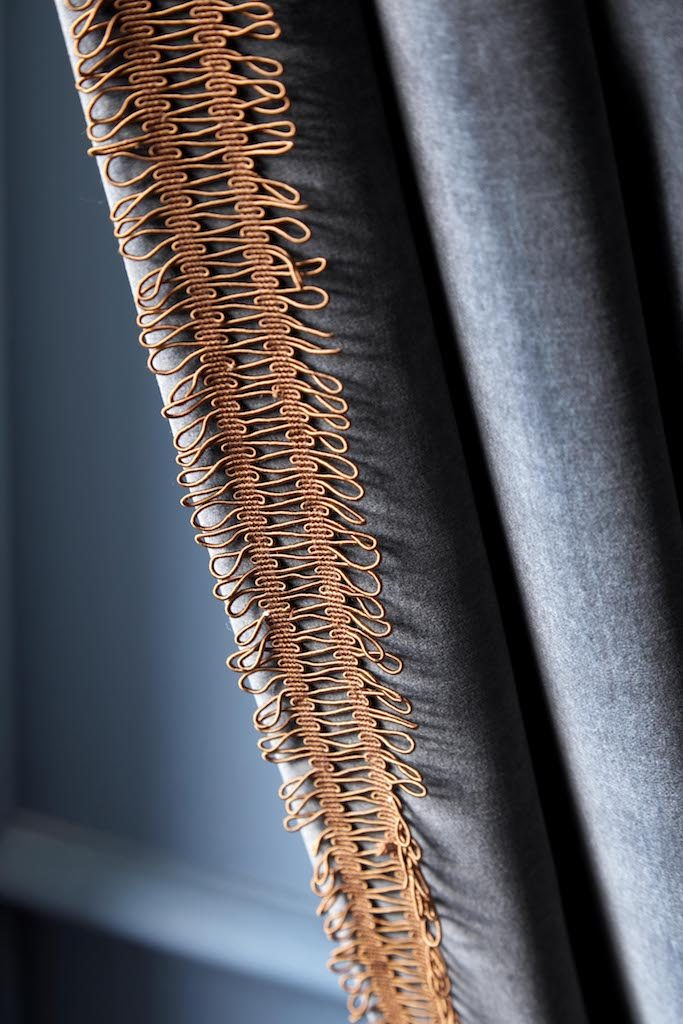 Contemporary Treatment of Tassels - K&H Design